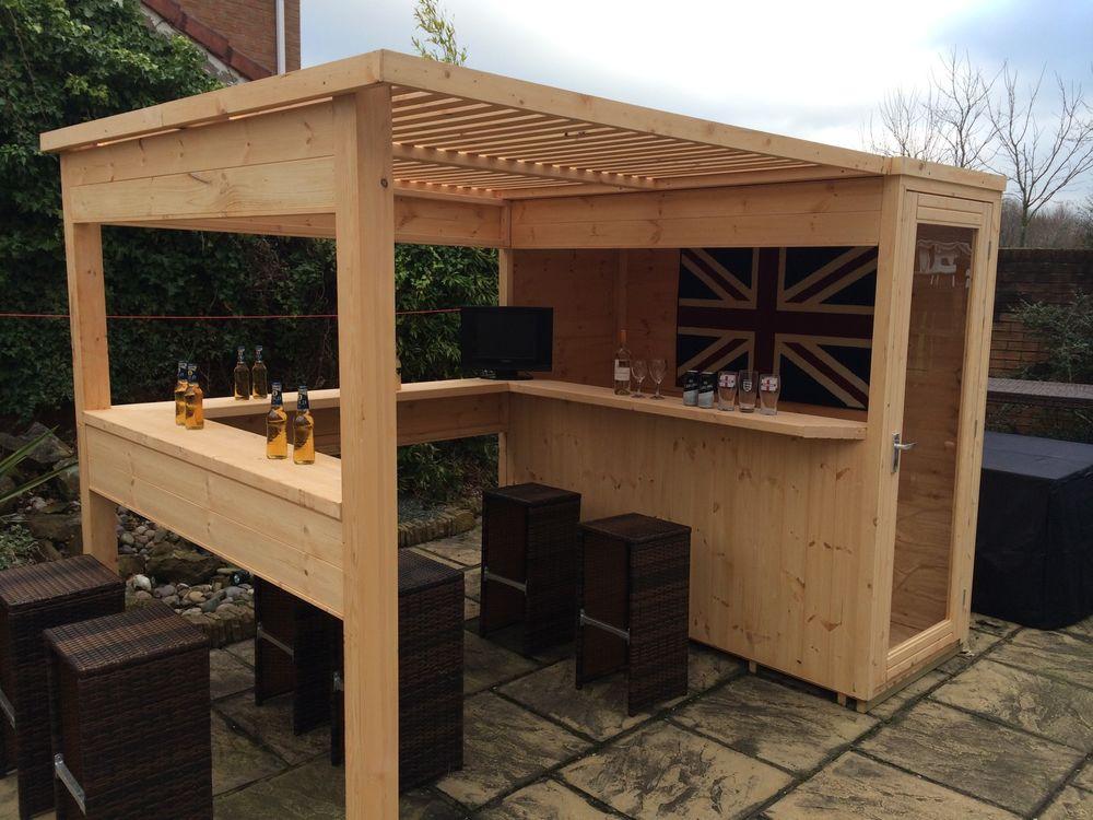 Enjoy Your Weekend With Friends In The Personal Garden Bar - Garden ...