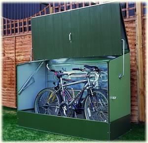 Charming Bike Storage Shed