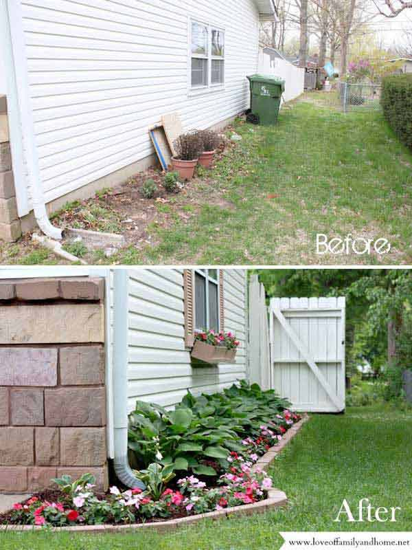 2. Make A Side Yard Makeover For Improving Homeu0027s Curb Appeal.