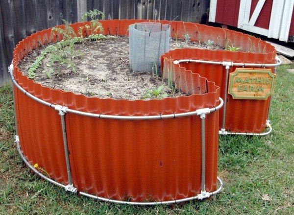 Keyhole garden design raised bed gardening ideas garden ideas outdoor decor - Best compost for flower pots solutions within reach ...