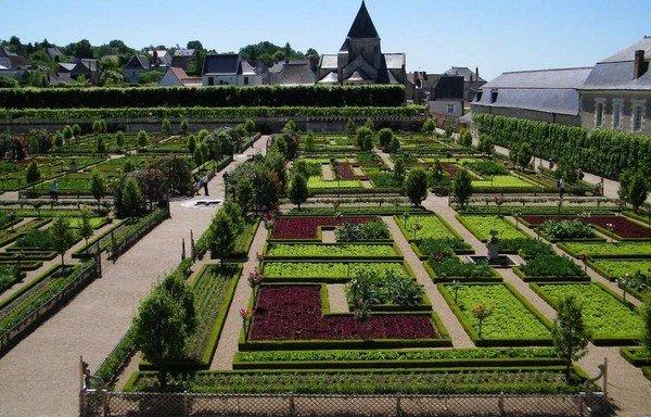classic potager garden plan ideas Chateau de Villandry France