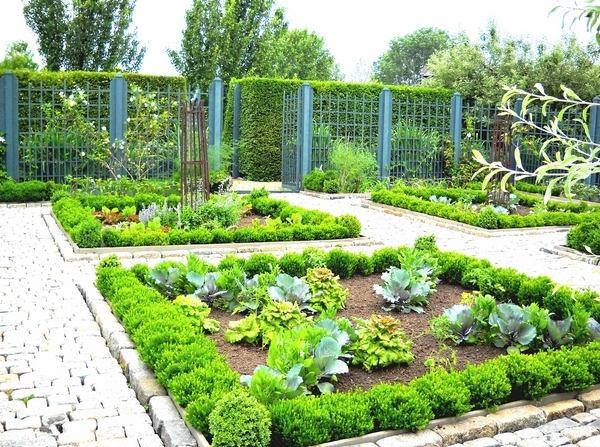 exterior design ideas potager garden design square garden beds