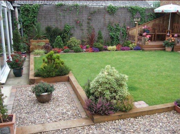 Wooden garden sleepers - Yes or no to railway sleepers in ...