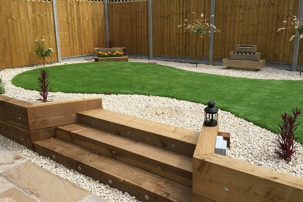 Wooden garden sleepers – Yes or no to railway sleepers in the garden ...