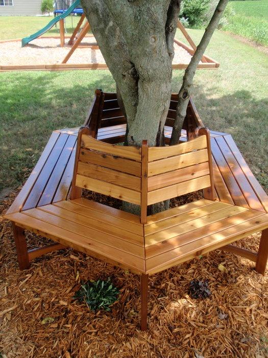 Garden Tree Benches That Will Impress You - Garden Ideas ...