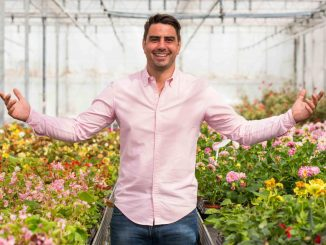 Chris Bavin, presenter of BBC Two's Britain in Bloom